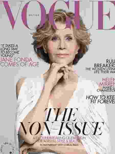 Jane Fonda - British Vogue/Reprodução Instagram