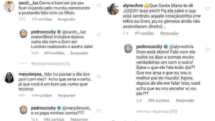 Pedro Scooby rebate críticas de seguidores - Reprodução/Instagram