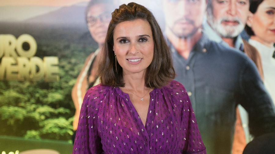 A novelista portuguesa Maria João Costa, autora de Ouro Verde - Carlos Reinis/Band