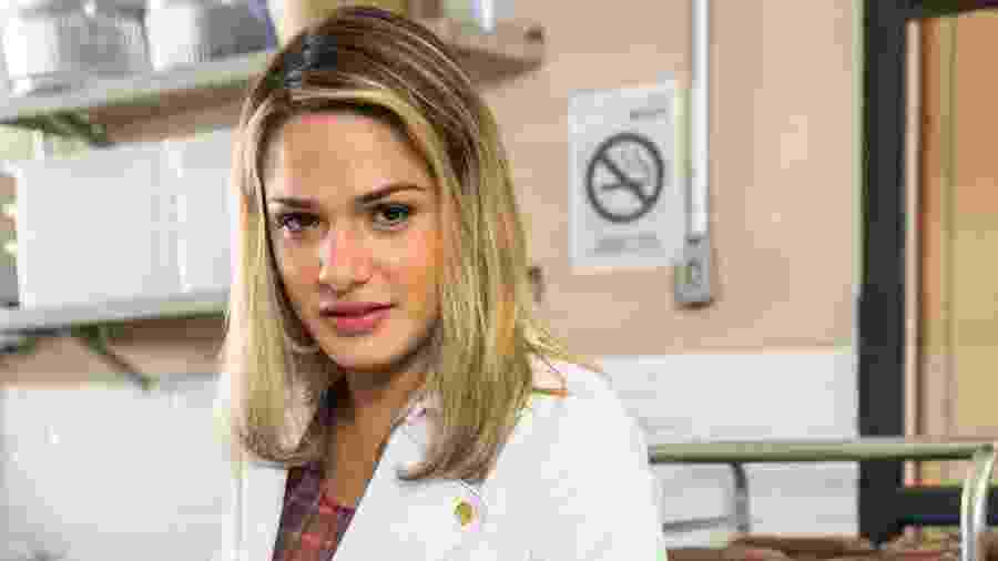 Britney, personagem de Glamour Garcia na novela A Dona do Pedaço - Globo/João Miguel Júnior