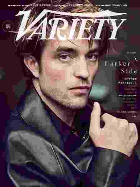 Robert Pattinson, o novo Batman, na capa da Variety - Divulgação