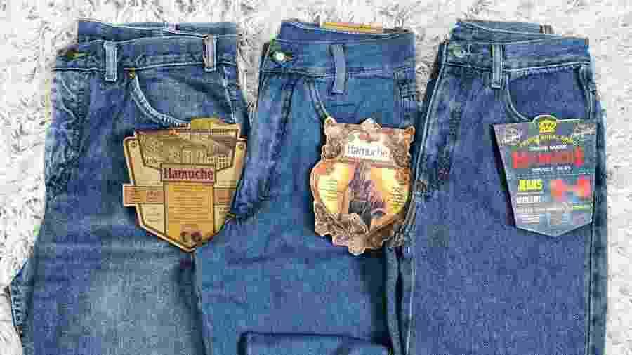 Moda de calças no estilo mom jeans fez com que estoques dos anos 90 da Hamuche aparecessem em brechós - Reprodução/Instagram