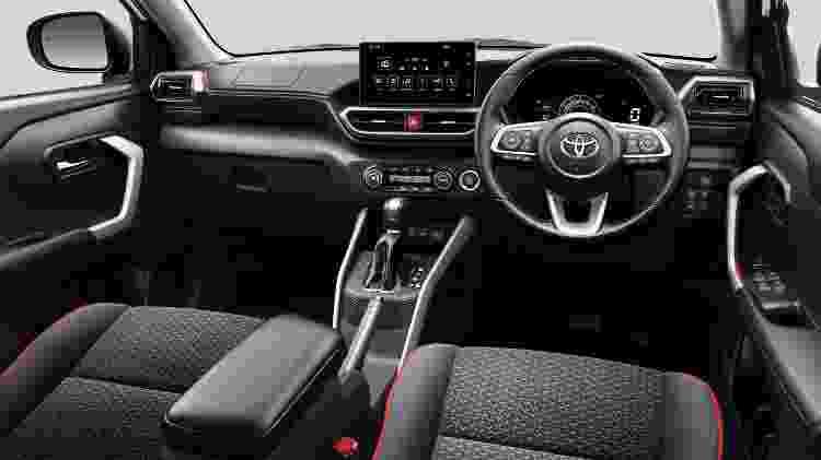 Toyota Raize cabine - Divulgação - Divulgação