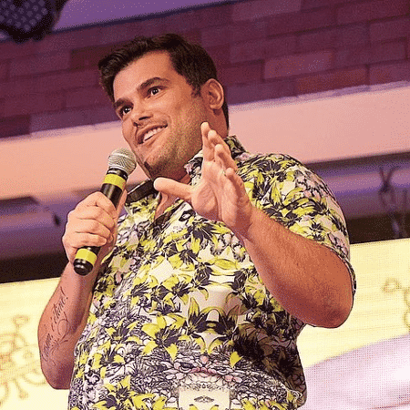 O humorista Rafael Cunha - Reprodução/Instagram - Reprodução/Instagram