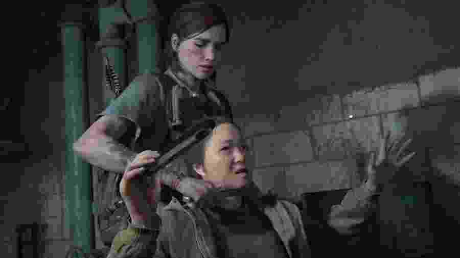 Portátil apareceu nas mãos de uma das vítimas de Ellie - Reprodução