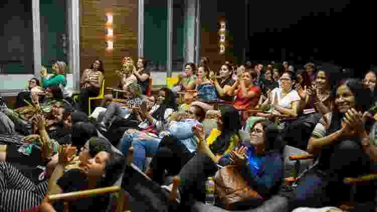 Palestra no projeto M.I.N.A.s de tecnologia, em Recife - Camila Pifano / Divulgação - Camila Pifano / Divulgação