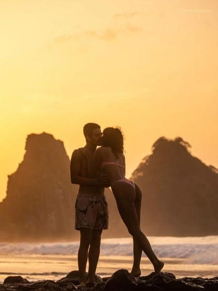Bruna Marquezine comemora dia do beijo com Story com Enzo Celulari - Reprodução/Instagram