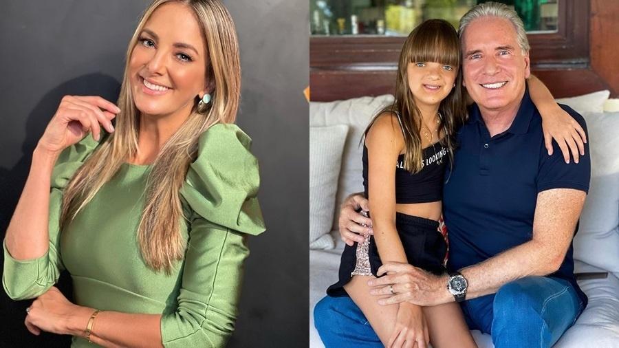 Ticiane Pinheiro e Roberto Justus são pais de Rafaella, de 11 anos - Reprodução/Instagram
