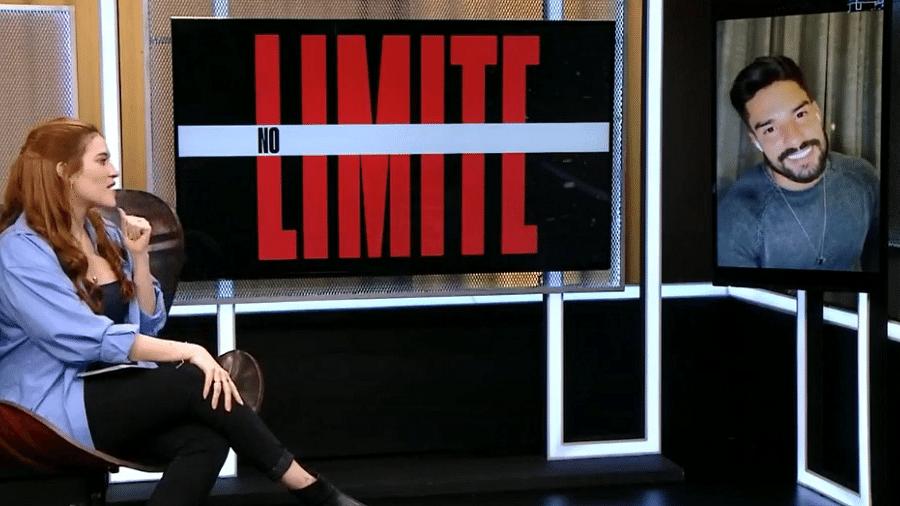 No Limite: Bil fala sobre aproximação com Carol Peixinho - Reprodução/Rede Globo