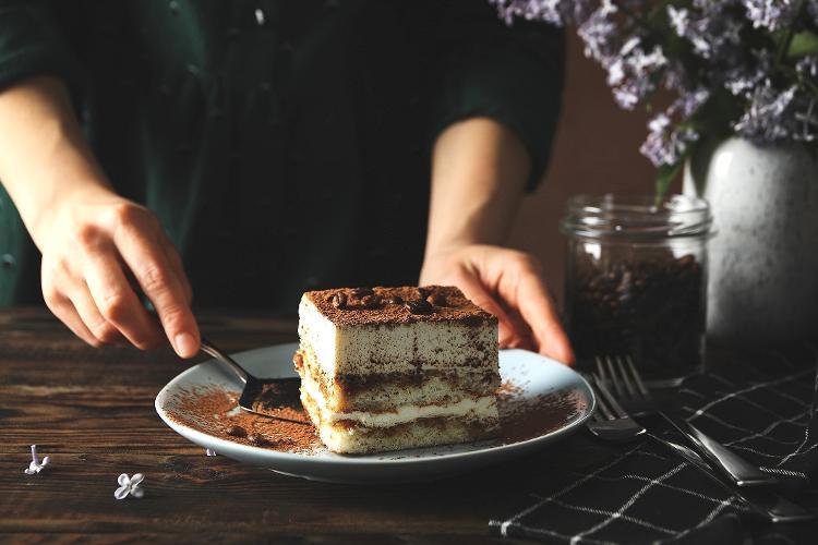 Ripieno con texture di dessert italiano - Getty Images / iStockPhoto - Getty Images / iStockPhoto