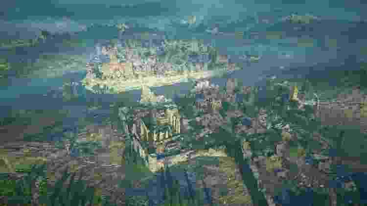 Paris no game Assassin's Creed Valhalla - Reprodução/START - Reprodução/START