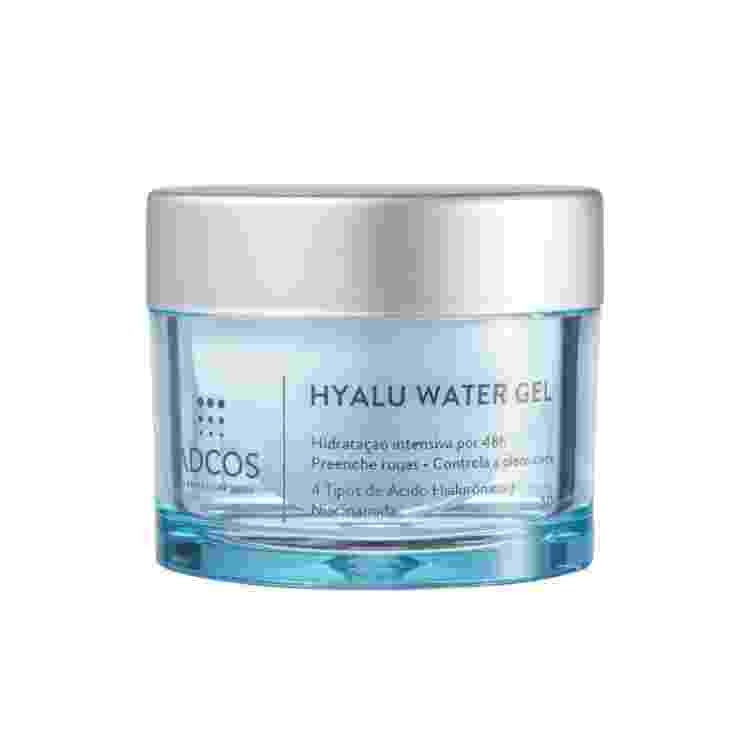 Hidratante facial em gel Hyalu Water Gel, Adcos. R$ 279,00 - Divulgação - Divulgação