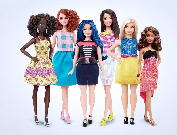 Novas bonecas terão versão com curvas, mais altas e com proporções menores - Divulgação