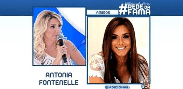 "Antônia Fontenelle chama Nicole Bahls de ""burra"" e Anitta de ""chata"" - Reprodução/SBT"