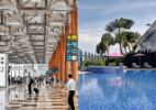 Melhor aeroporto do mundo tem cinema, piscina e espaço para soneca; conheça - Divulgação/Changi Airport Group