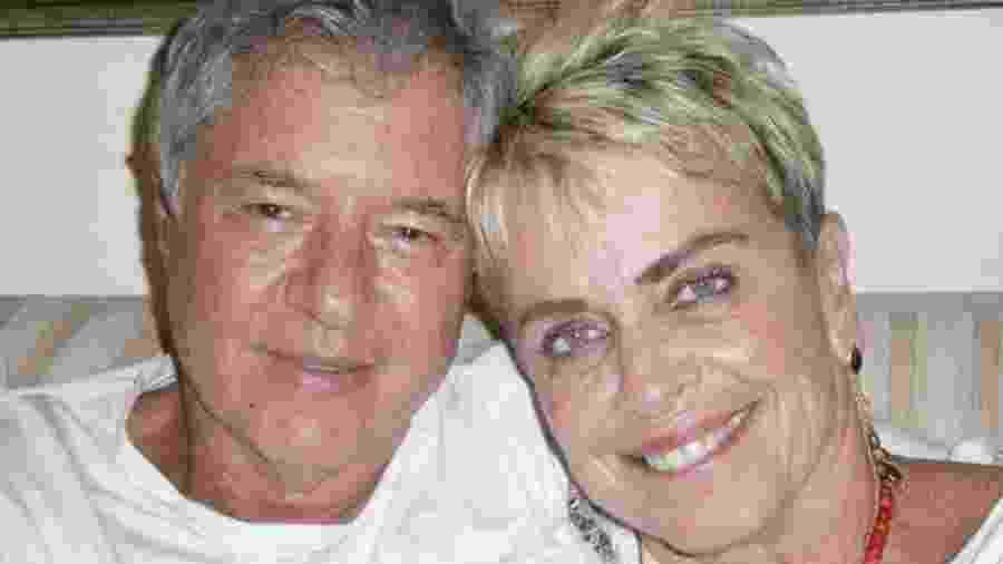 Leila Cordeiro com seu atual namorado, Wilson Pariz - Reprodução/Arquivo pessoal