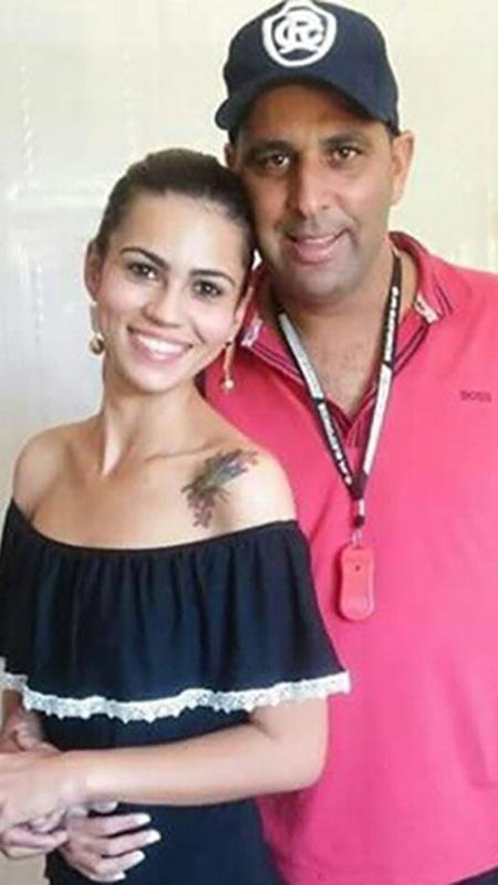 Carla Oliveira e o marido, Luciano Gomes, estão juntos há dois anos - Arquivo pessoal