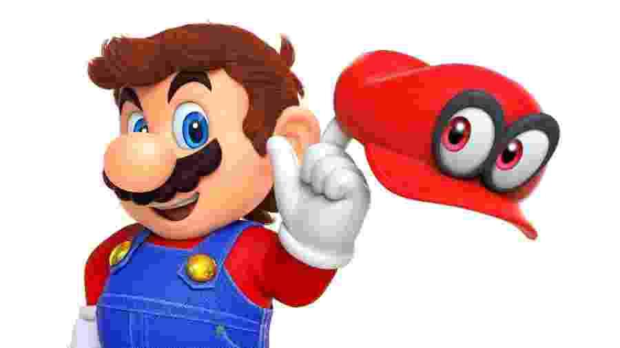Mario curtir sua aposentadoria junto de seu chapéu, Cappy - Reprodução