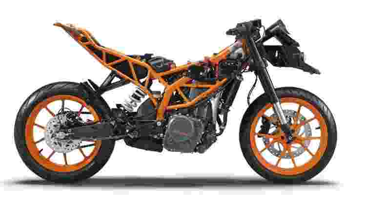 Uma motocicleta com bom chassi é mais segura, eficiente e, claro, mais prazerosa. - Divulgação - Divulgação