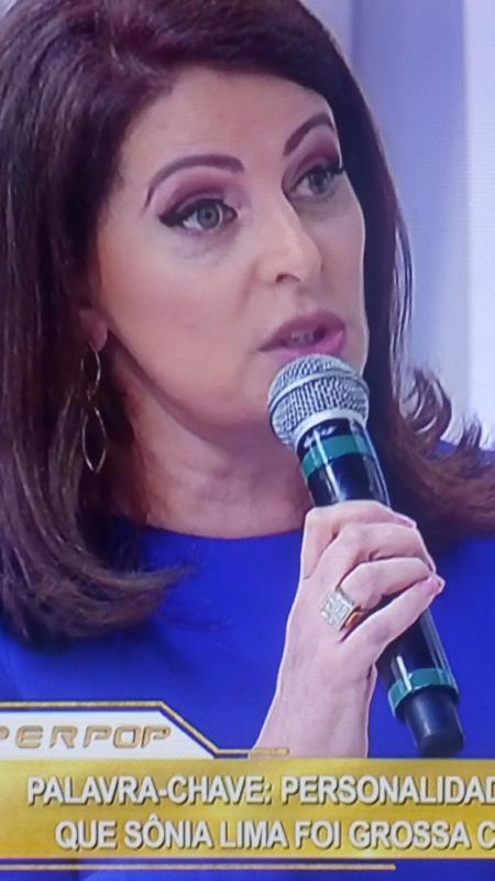 """Sônia Lima no """"Superpop"""" - Reprodução/RedeTV!"""