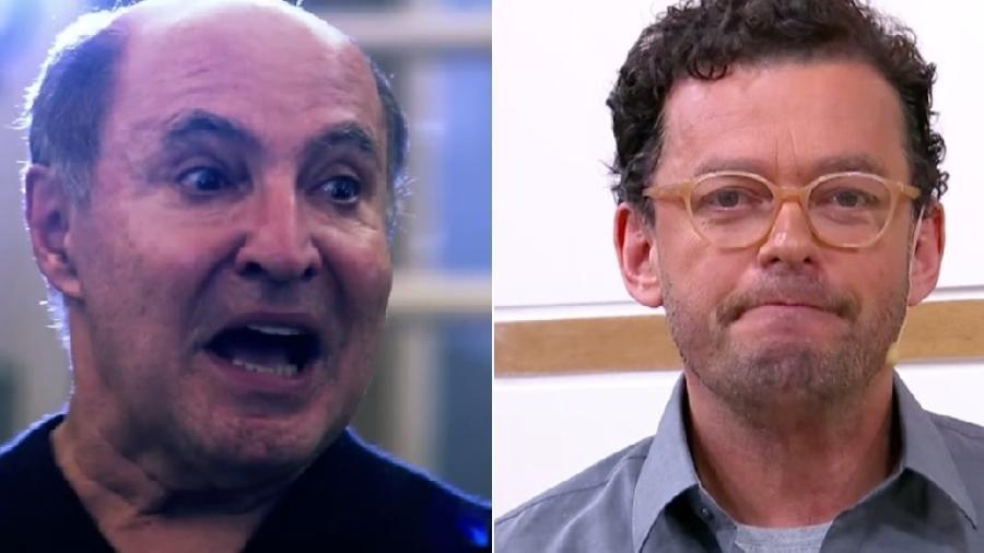 """O coreógrafo Ivaldo Bertazzo expulsou Fernando Rocha do quadro """"Quem Dança Seus Males Espanta"""", do """"Bem Estar"""" - Montagem/Reprodução/TV Globo"""