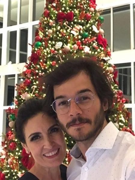 Fátima Bernardes e o namorado - Reprodução/Instagram