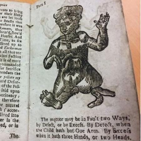 """Manual de 1720 dá dicas de sexo - Hanson""""s Auction House/Divulgação"""