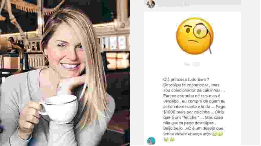 Susana Werner recebe pedido inusitado de seguidor - Reprodução/Instagram
