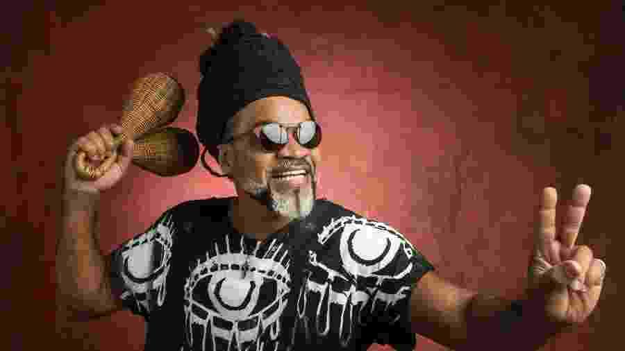 O músico brasileiro Carlinhos Brown - Mauricio Fidalgo/Globo/Divulgação
