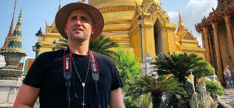 Paulo Gustavo foi barrado em um templo em Bangkok, capital da Tailândia, nesta terça-feira (20) - Reprodulção/Instagram
