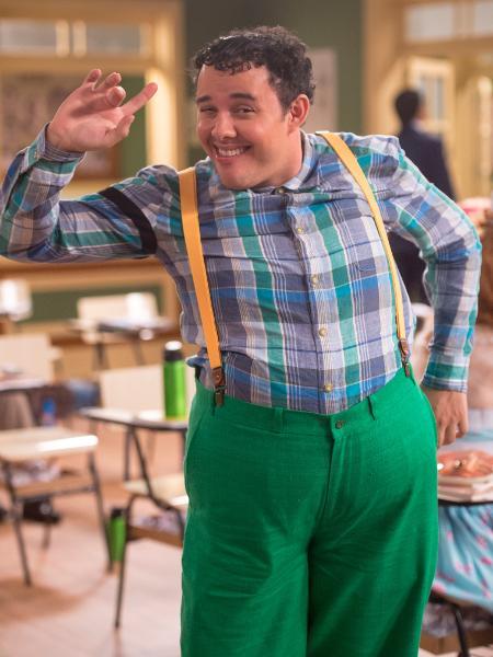 Gui Santana como novo Nerso da Capitinga na Escolinha do Professor Raimundo  - Globo/João Cotta