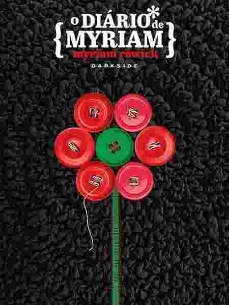 """Capa do livro """"O Diário de Myriam"""" - Divulgação - Divulgação"""