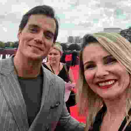 """Renata Boldrini e Henry Cavill na première de """"Missão Impossível: Efeito Fallout"""" - Divulgação"""