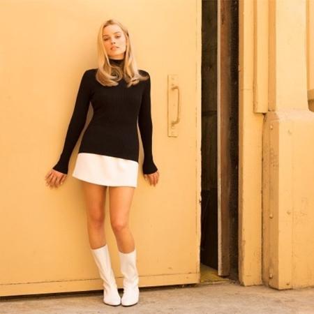 """Margot Robbie como Sharon Tate em """"Once Upon a Time in Hollywood"""", novo filme de Tarantino - Reprodução/Instagram"""
