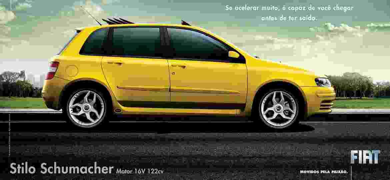 """Fiat Stilo """"Schumacher"""" foi uma das séries especiais de mais sucesso da década de 2000 - Divulgação"""