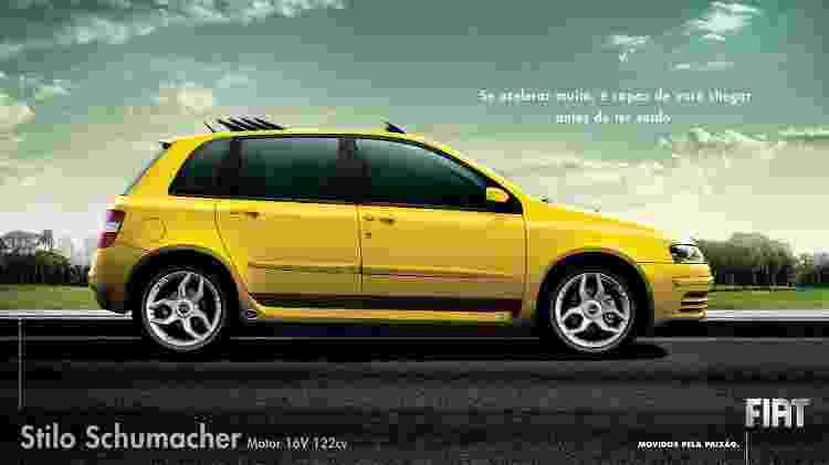 Fiat Stilo Schumacher - Divulgação - Divulgação