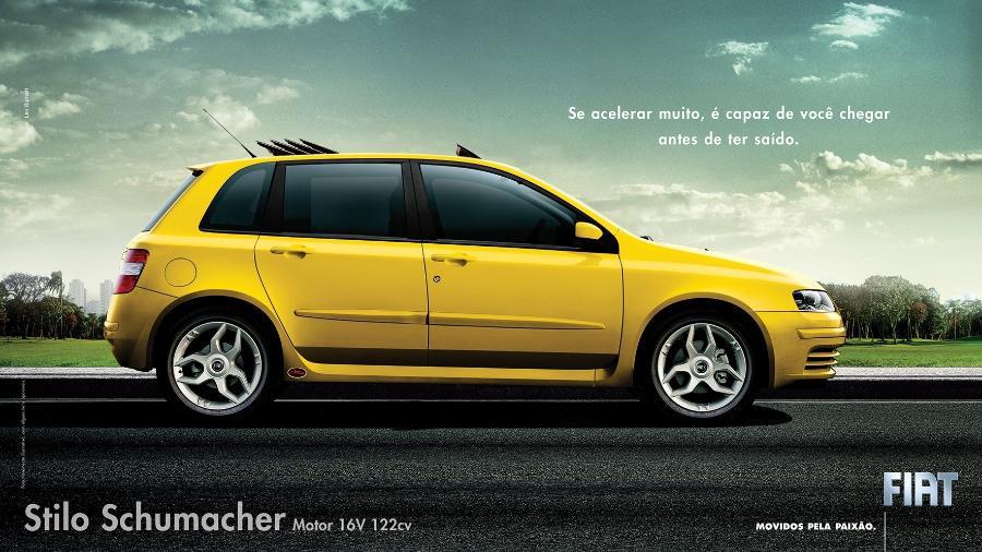 Fiat Stilo Schumacher - Divulgação