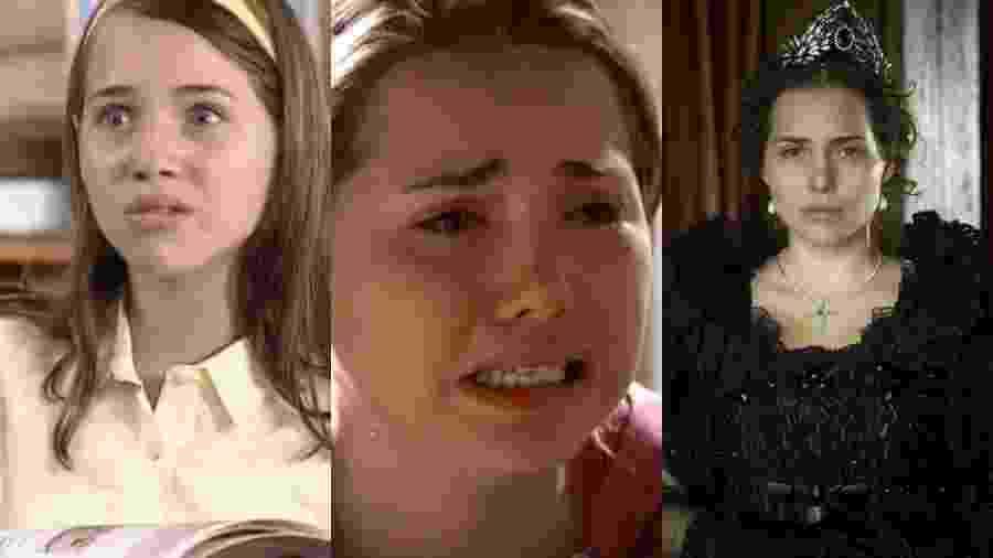Em cerca de 18 anos na TV, Letícia Colin já viveu todo tipo de personagem - Reprodução/Globo/Reprodução/Record/Globo/Estevam Avellar/Montagem UOL