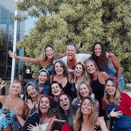 Xuxa e suas ex-paquitas se confraternizaram em sua casa neste fim de ano - Reprodução/Instagram