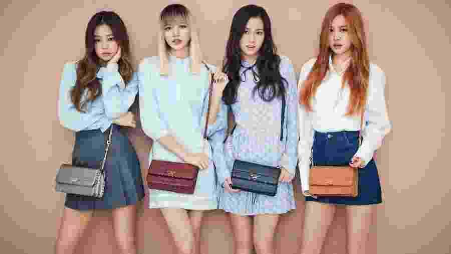 O grupo feminino de k-pop Blackpint - Divulgação