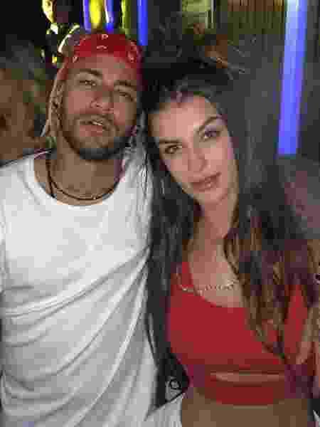 DJ Bárbara Labres publica foto com Neymar - Reprodução/Instagram/barbara.labres