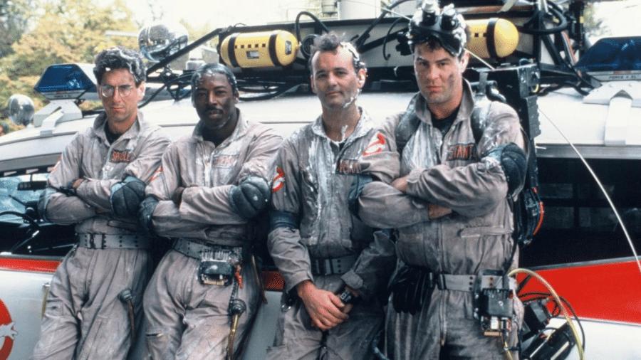"""Cena do filme """"Os Caça-Fantasmas"""" (1984) - Reprodução"""