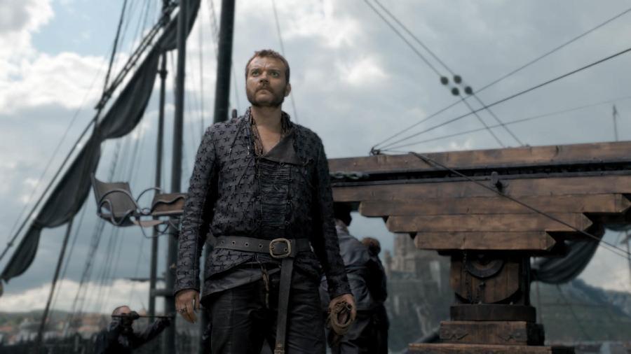 """Euron Greyjoy (Pilou Asbaek) em cena de """"Game of Thrones"""" - Divulgação/HBO"""