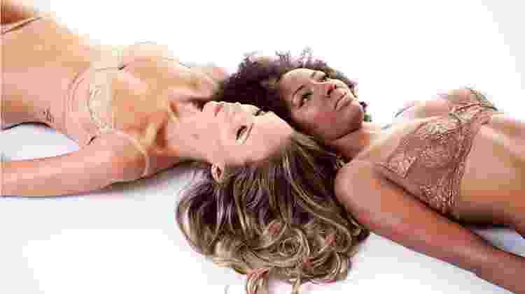 """A primeira linha de MAPA Lingeries teve quatro tonalidades de """"nudes"""": duas para pele branca e duas para pele negra - Divulgação - Divulgação"""