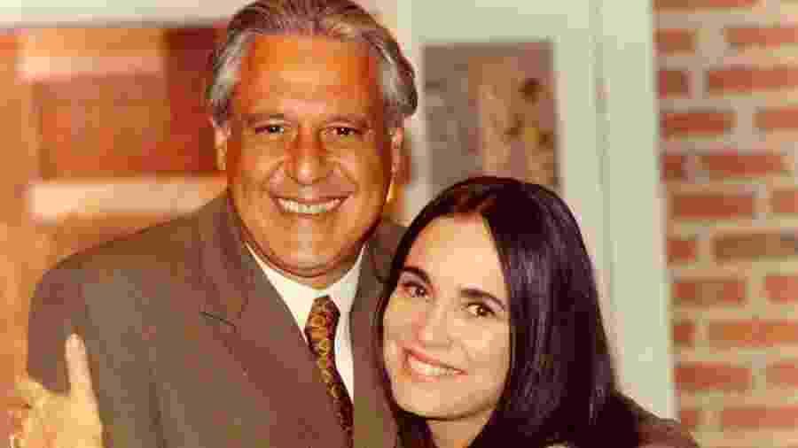 Antonio Fagundes com Regina Duarte em Por Amor - Globo/Divulgação