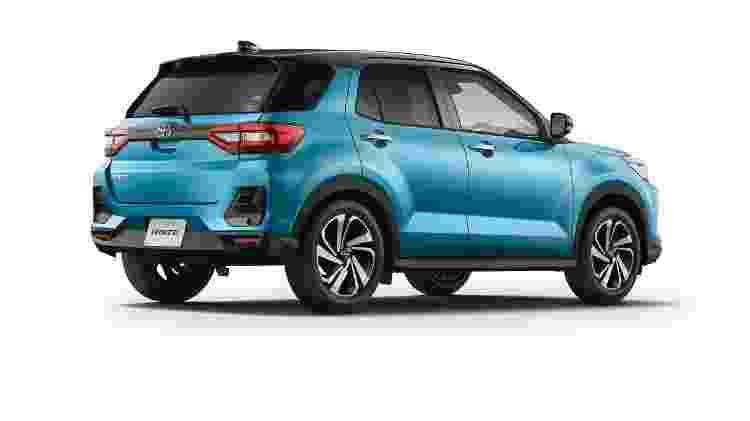Toyota Raize traseira - Divulgação - Divulgação