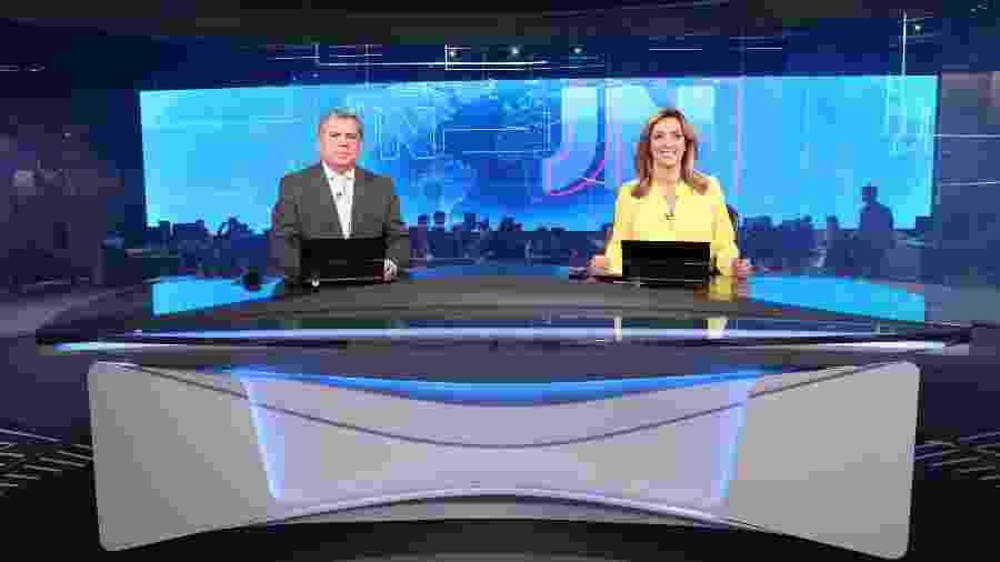 Mário Motta, de Santa Catarina, e Lídia Pace, do Rio Grande do Norte, encerram o rodízio especial dos 50 anos do JN - João Cotta/Globo