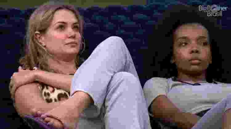 Thema sentiu a relação com Marcela estremecida - Reprodução/Globoplay - Reprodução/Globoplay