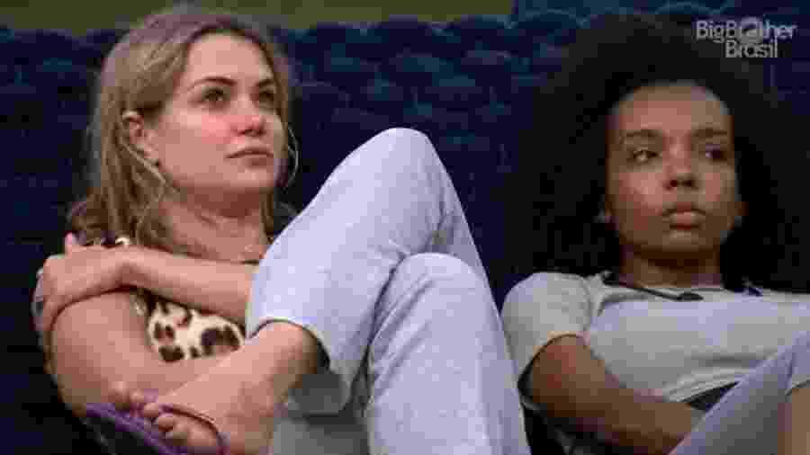 BBB 20: Marcela fala com Thelma sobre voto em Babu - Reprodução/Globoplay