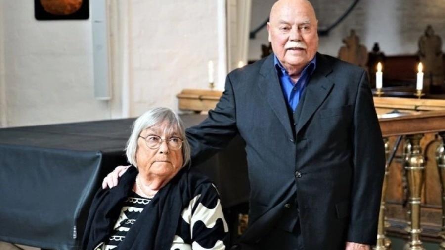 Lotte e Kjeld Preisler, que se casaram novamente após 30 anos divorciados - Reprodução/Washington Post